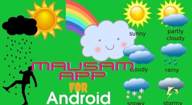 mausam app